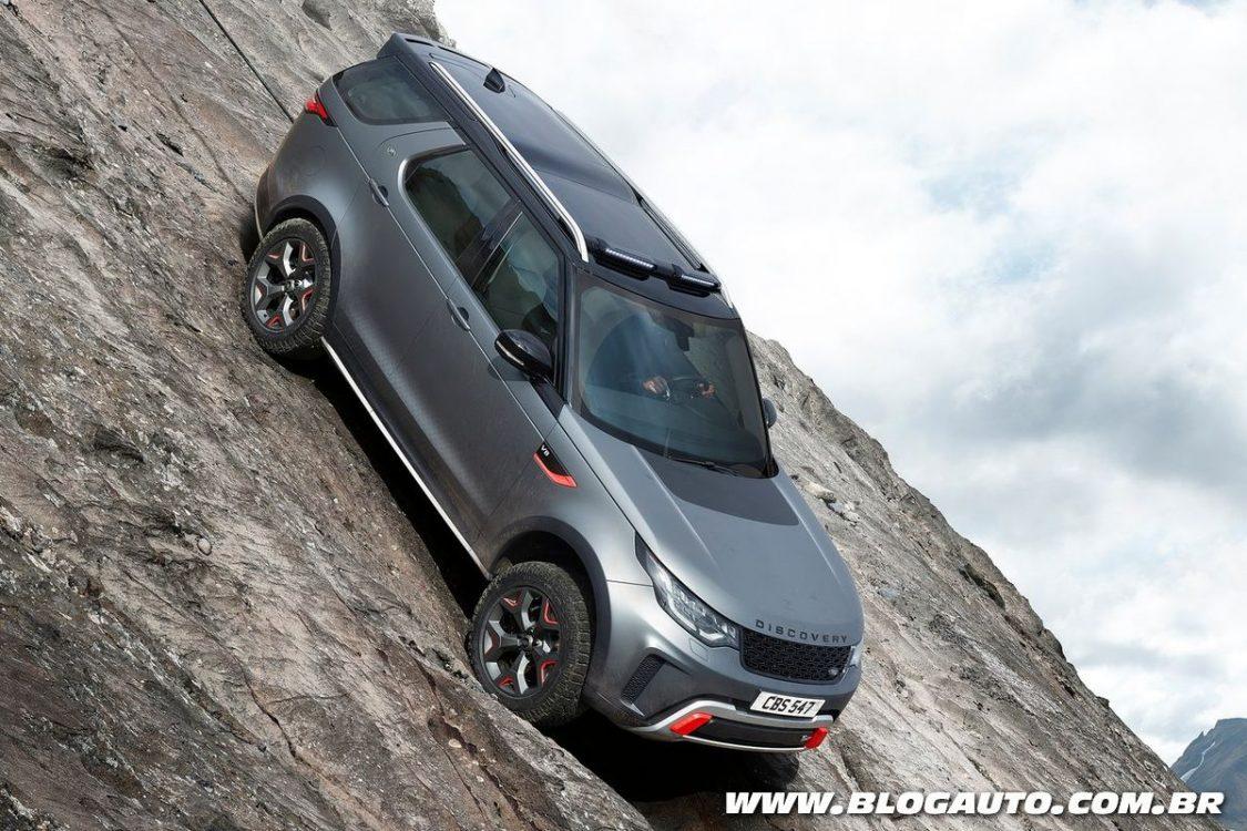 Land Rover Discovery SVX ainda mais off-road