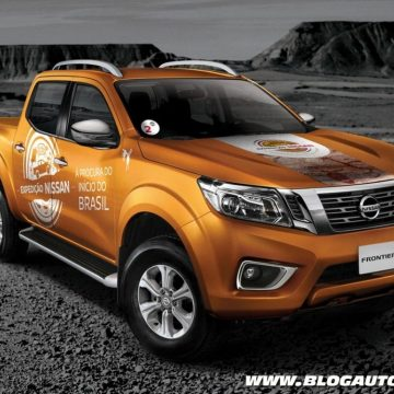 Nissan Frontier para a expedição da marca no Brasil