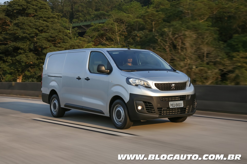 Peugeot Expert 2018 chega por interessantes R$ 79.990