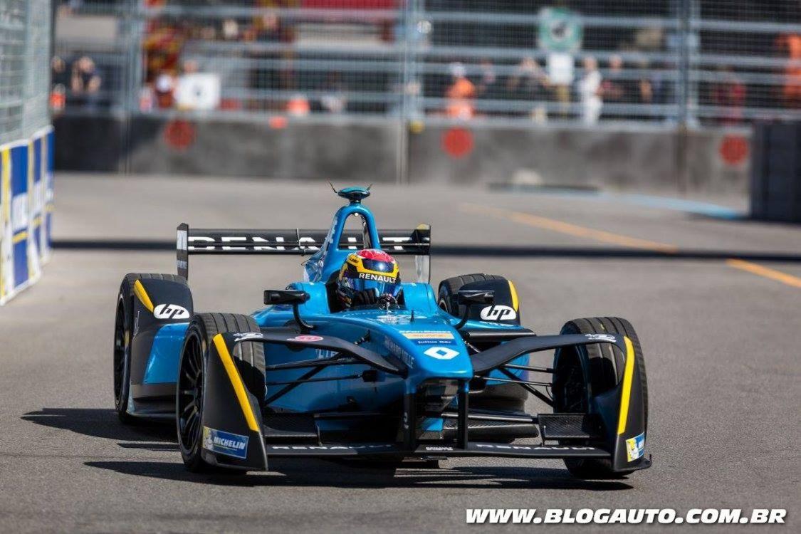 Renault e.dams conquista três títulos na Fórmula E