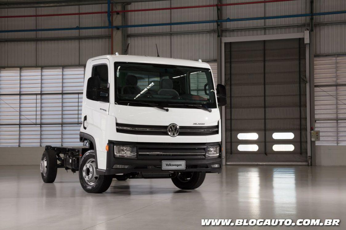 Volkswagen Delivery Express exige CNH categoria B