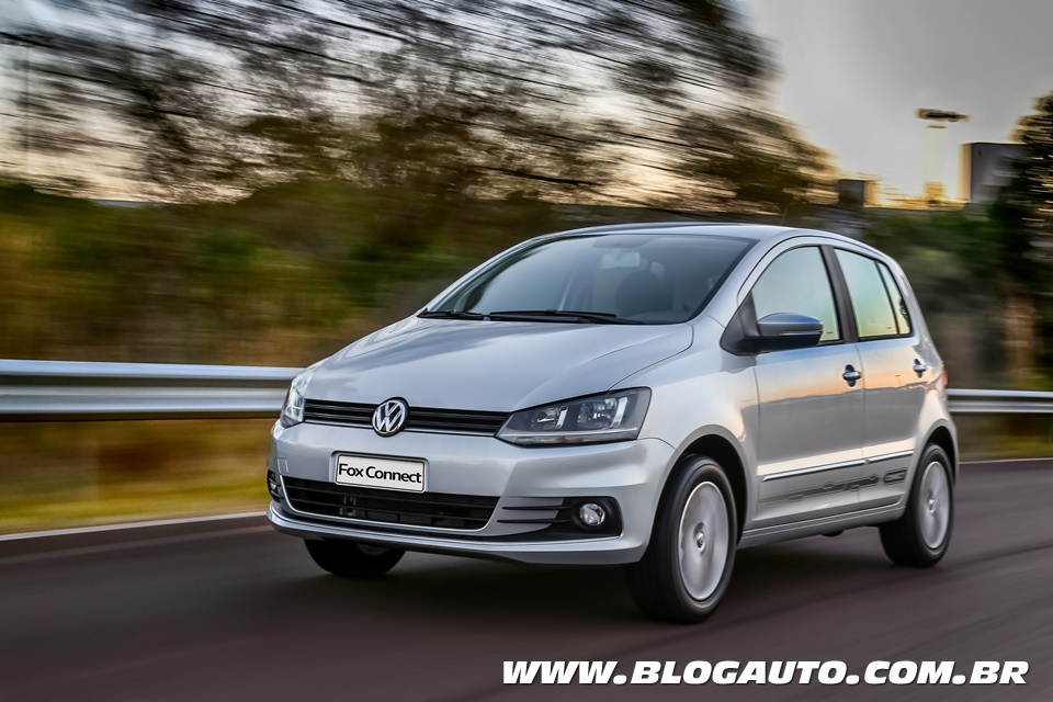 Volkswagen Fox Connect 2018 no embalo do up!