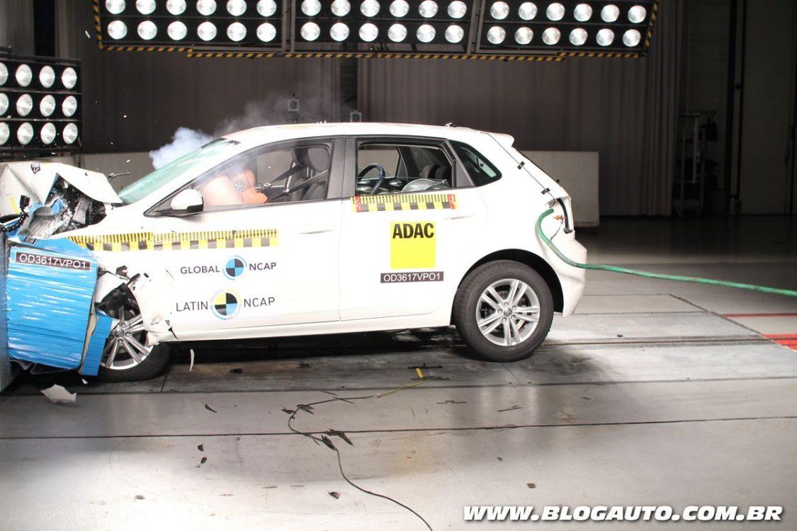 Polo 2018 e Corolla 2018 tiram nota máxima no Latin NCAP