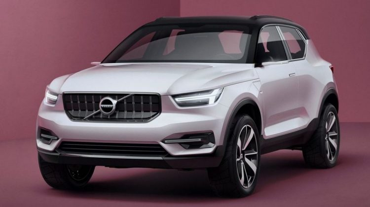 Volvo 40.1 Concept antecipa as linhas do novo Volvo XC40