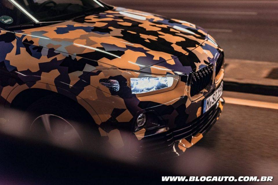 BMW X2 camuflado