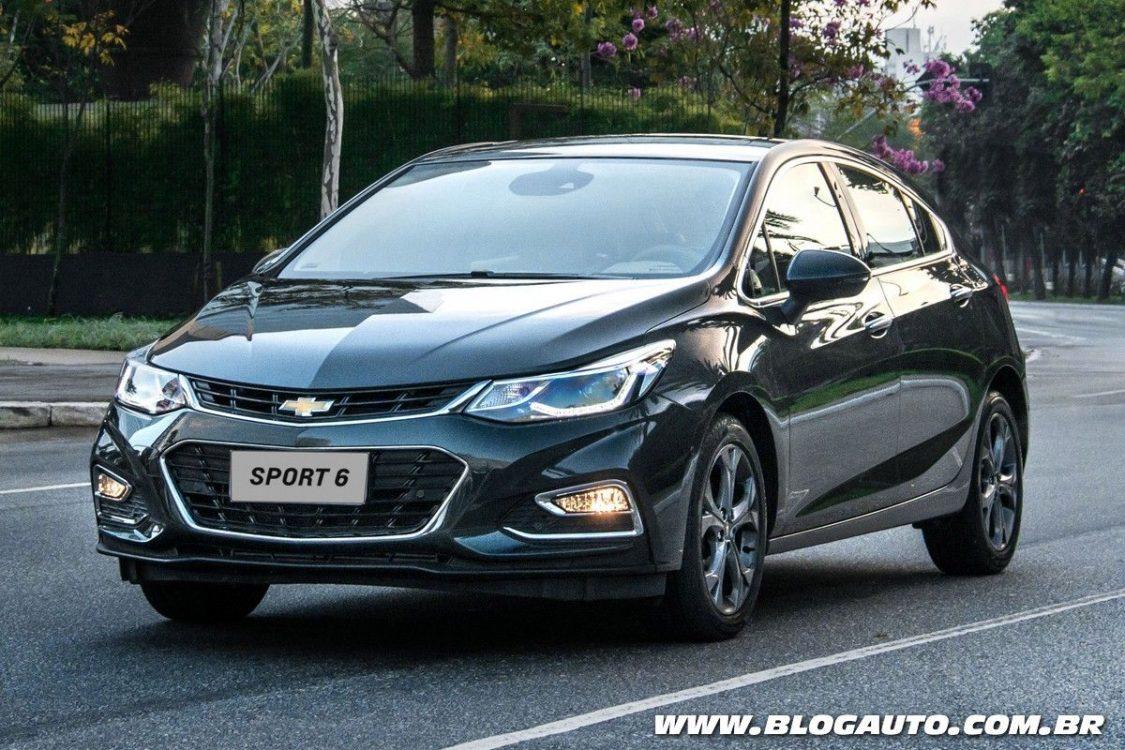Chevrolet Cruze Sport6 2018 recebe novos itens de série ...