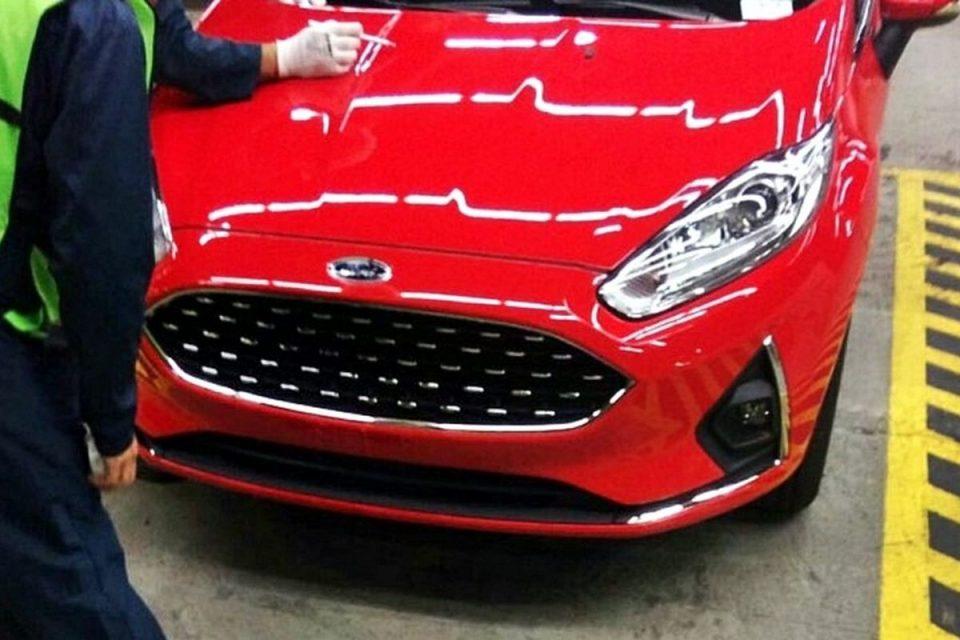 Flagra do novo Ford Fiesta 2018