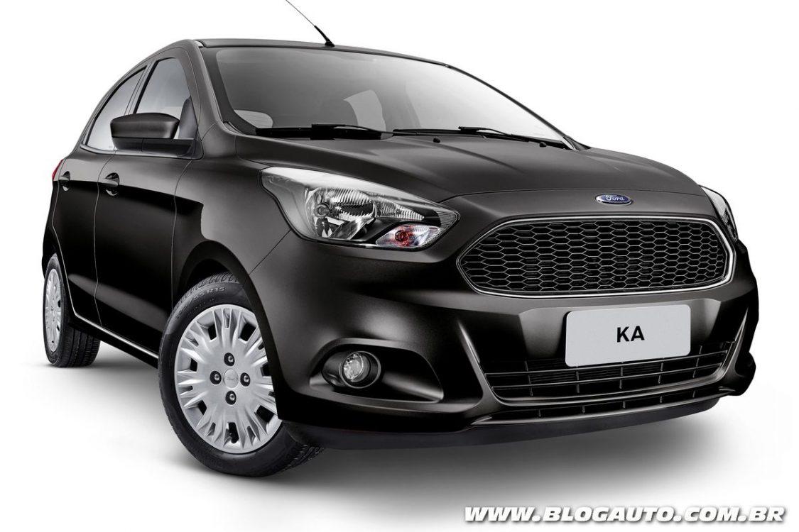Ford Ka e Ka+ ganham novas versões na linha 2018