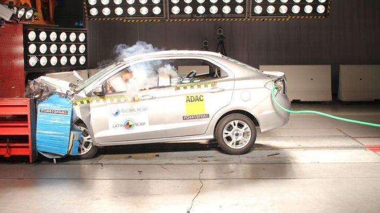 Ford Ka no Latin NCAP