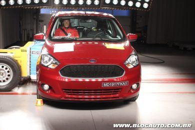 Ford Ka no Latin NCAP