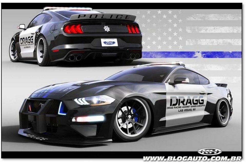 Ford Mustang DRAGG