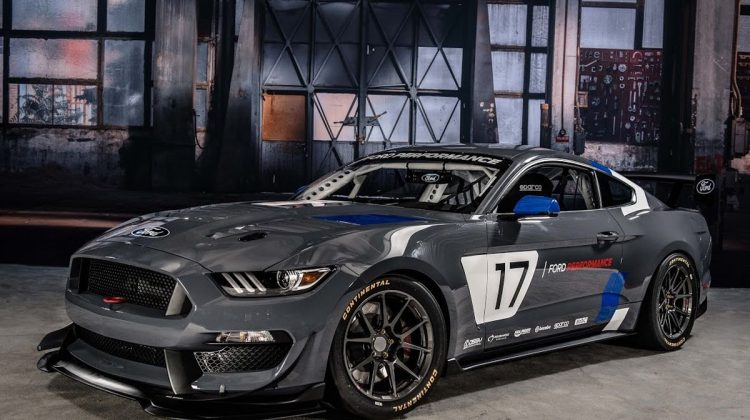 Ford Mustang GT4 V8