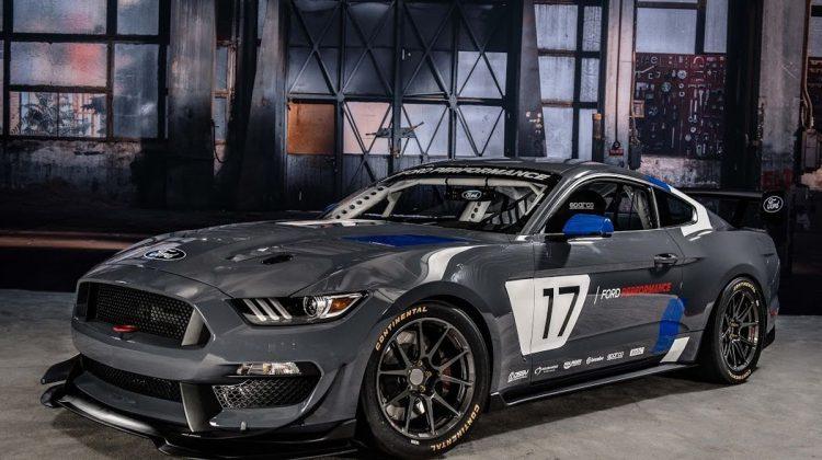Ford Mustang GT4 V8