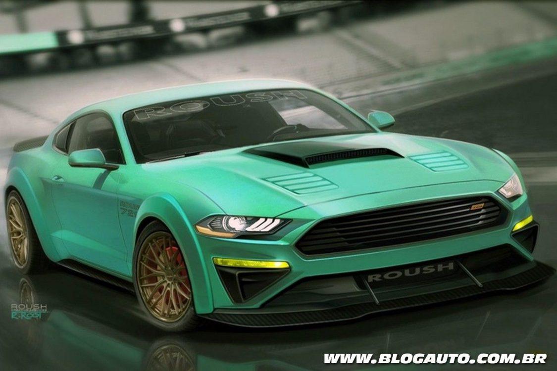 Ford vai mostrar Mustangs tunados no Sema Show
