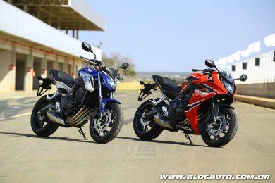 Honda CB 650F e CBR 650F 2018