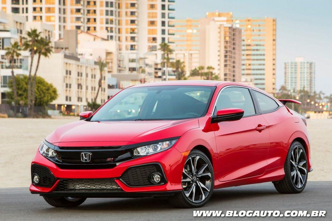 Honda Civic Si 2019 estreia em breve por R$ 159,9 mil