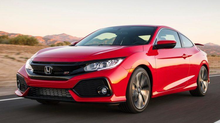 Honda Civic Si Coupé 2018