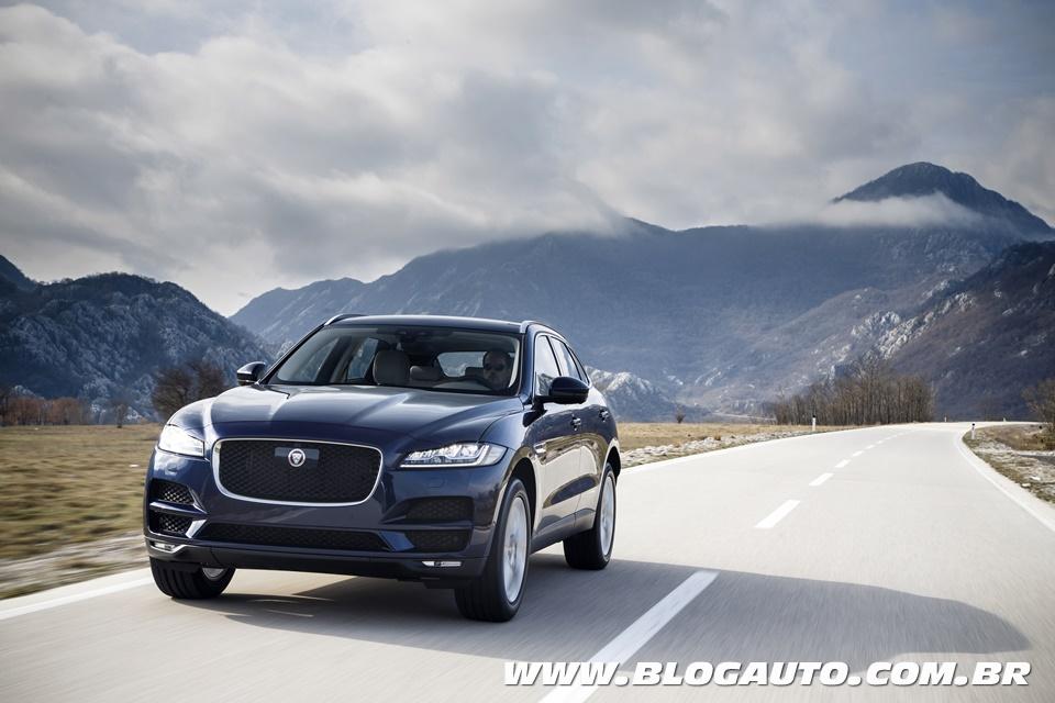 Jaguar F-Pace 2018 nova opção de entrada por R$ 301.400