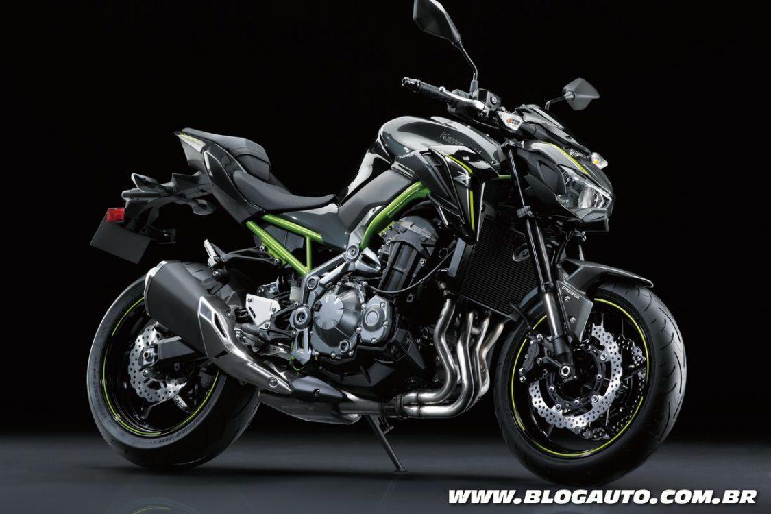 Kawasaki Z900 substitui a Z800 por R$ 41.990