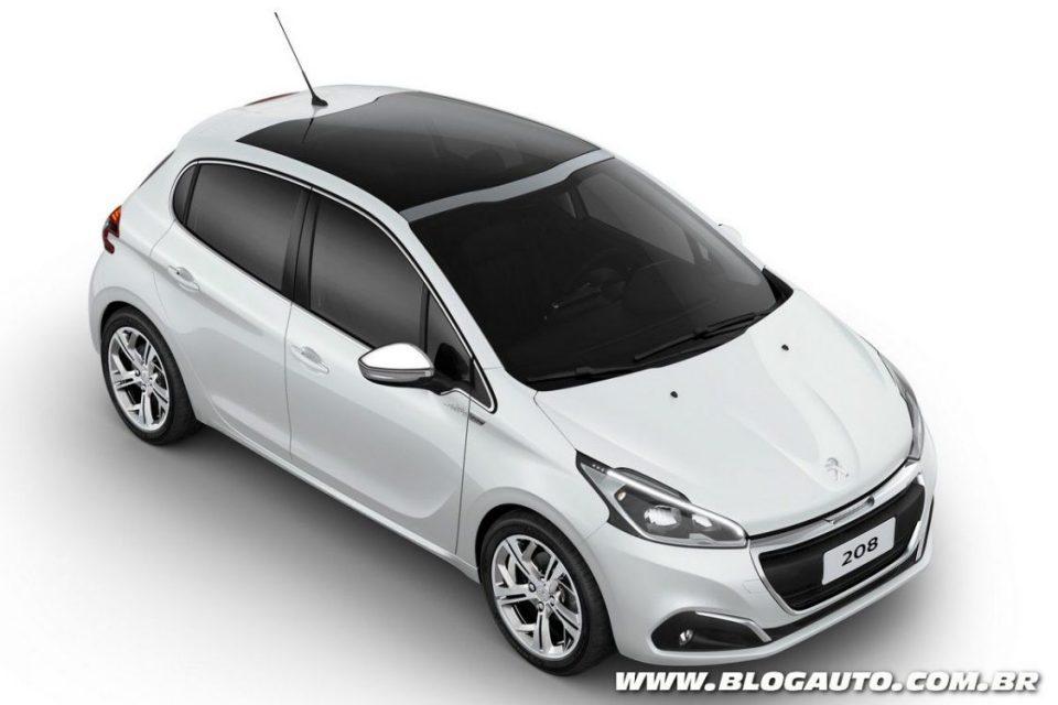 Peugeot 208 urbantech nova s rie especial por r for Interno peugeot 208