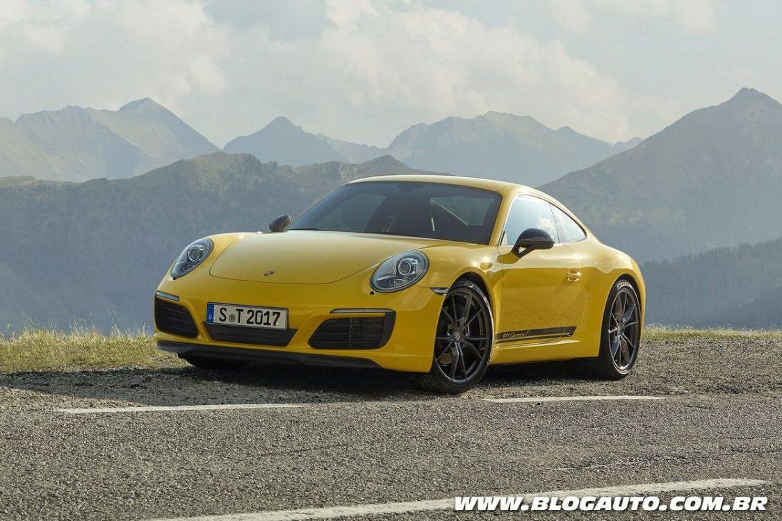 Porsche 911 Carrera T chega por R$ 519.000