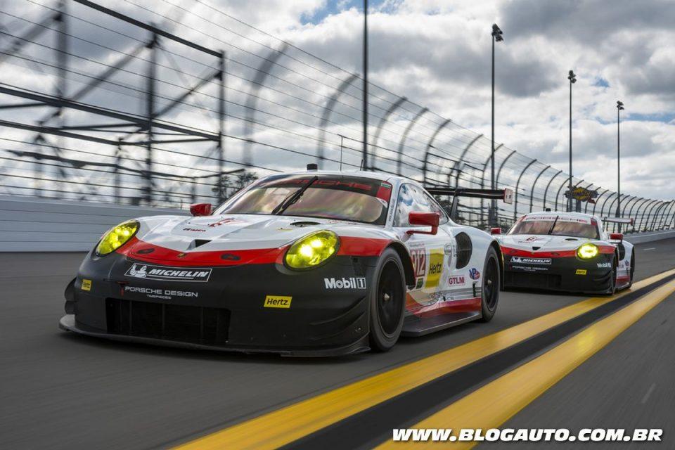 Porsche 911 RSR em Daytona