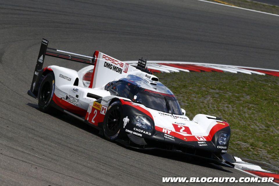 Porsche 919 Hybrid no Campeonato Mundial de Endurance
