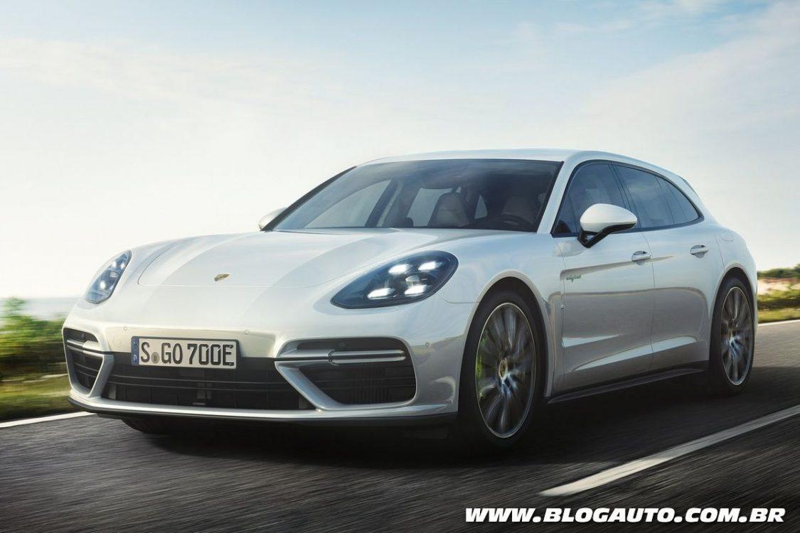 Porsche Panamera Sport Turismo ganha versão híbrida plug-in