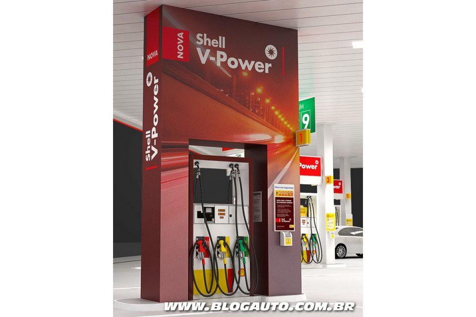 Posto Especial da nova Shell V-Power