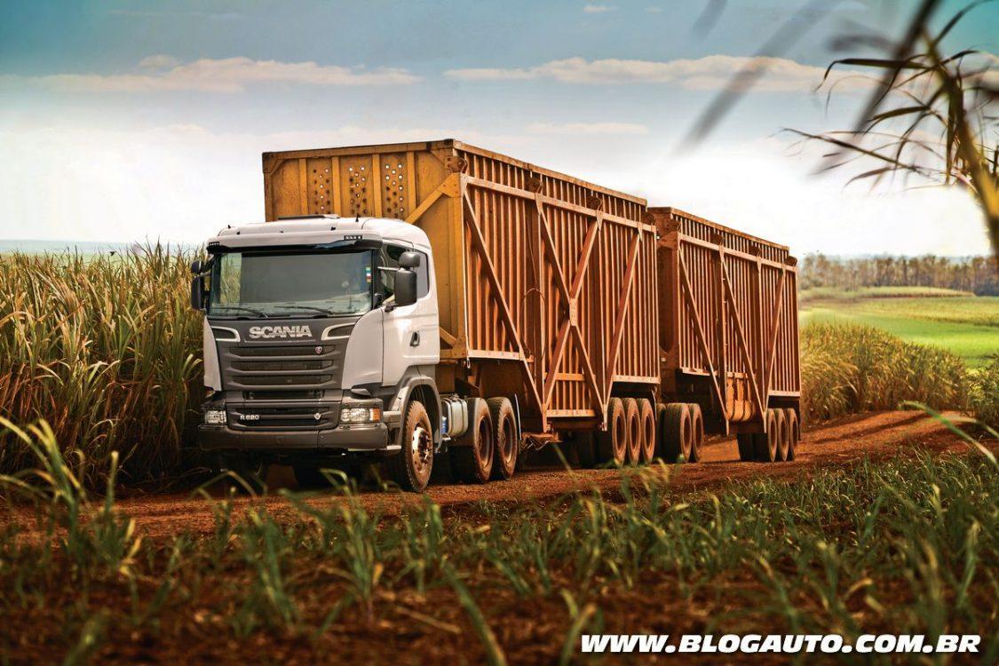 Tudo sobre os caminhões Scania na Fenatran