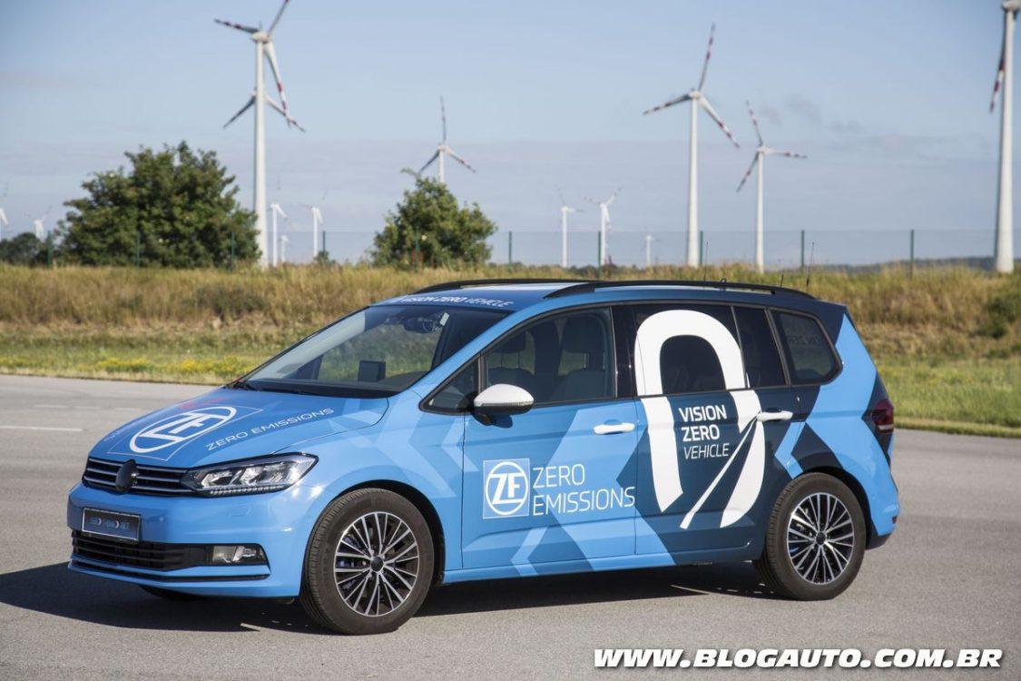 ZF apresenta carro autônomo com eixo traseiro inovador