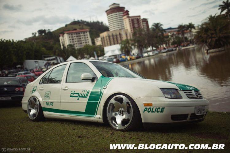 BGT9 - Melhor Tematico - Adesivado - Volkswagen Bora Polícia de Dubai - Foto Pedro Ruta Jr - DG Works