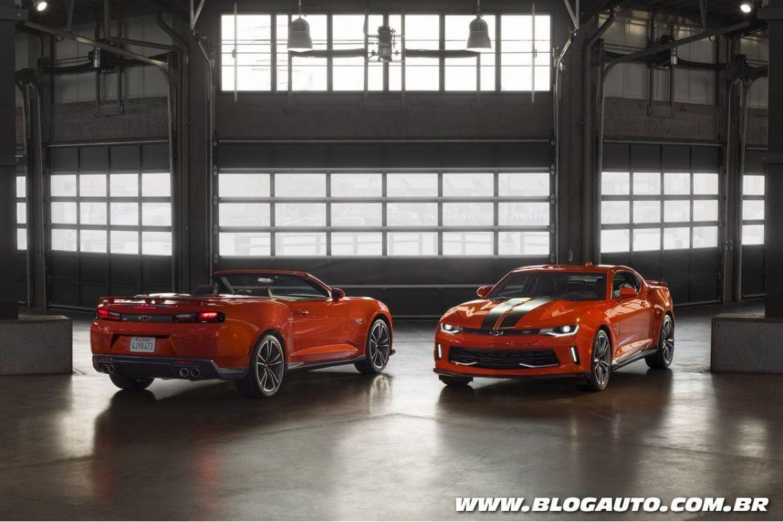 Chevrolet Camaro estreia versões Hot Wheels e COPO
