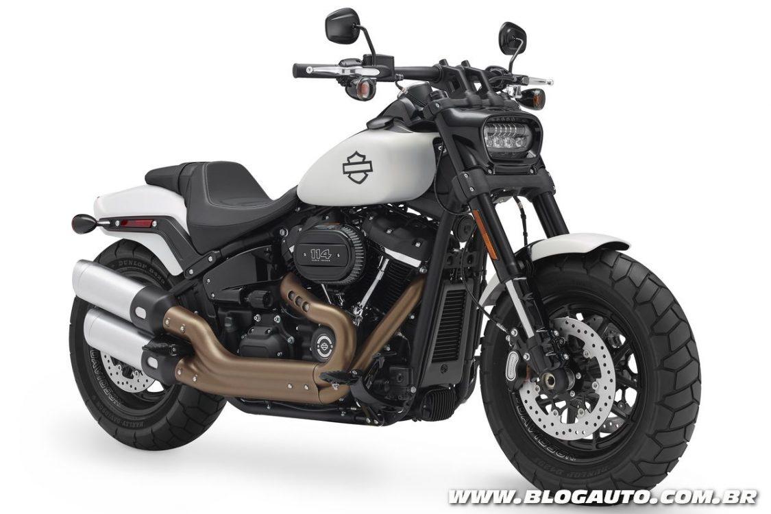 Harley-Davidson Softail 2018 evolui com novos recursos