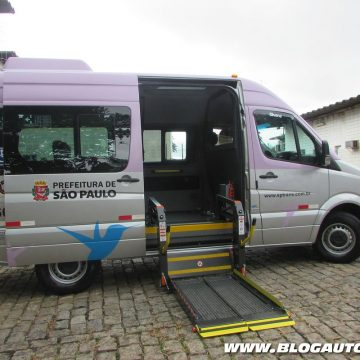 Mercedes-Benz Sprinter do programa Atende