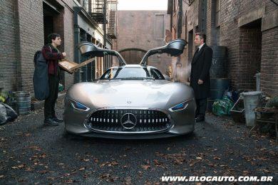 Mercedes-Benz no filme Liga da Justiça