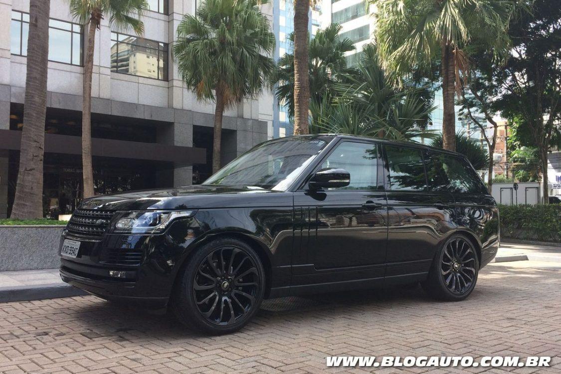 Limitado, novo Range Rover Black 2017 chega ao Brasil