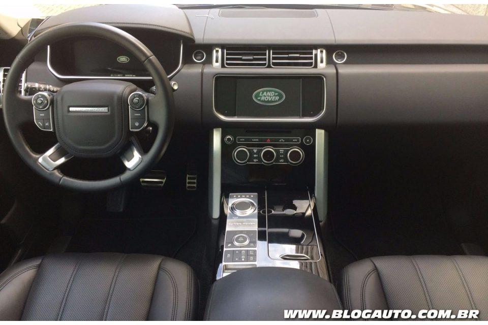 Range Rover Black 2017