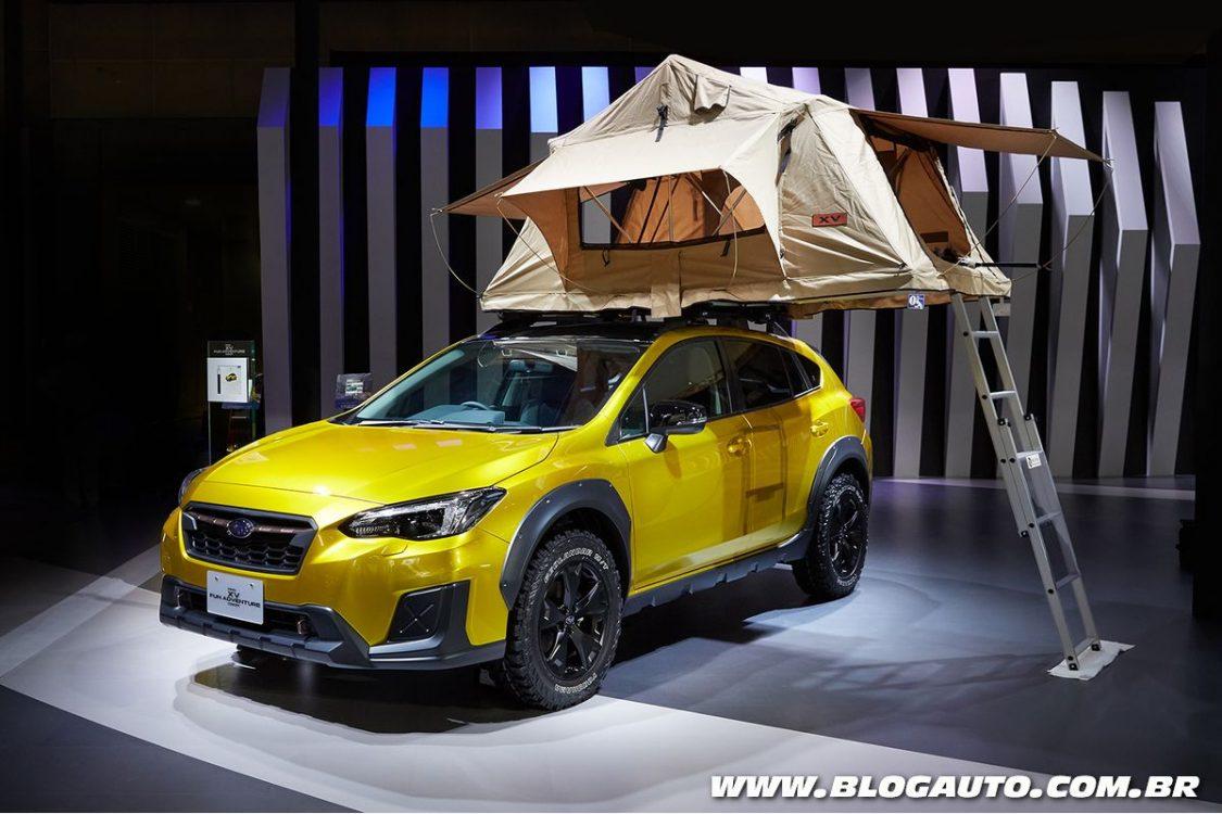 Subaru apresenta sete novidades no Salão de Tóquio