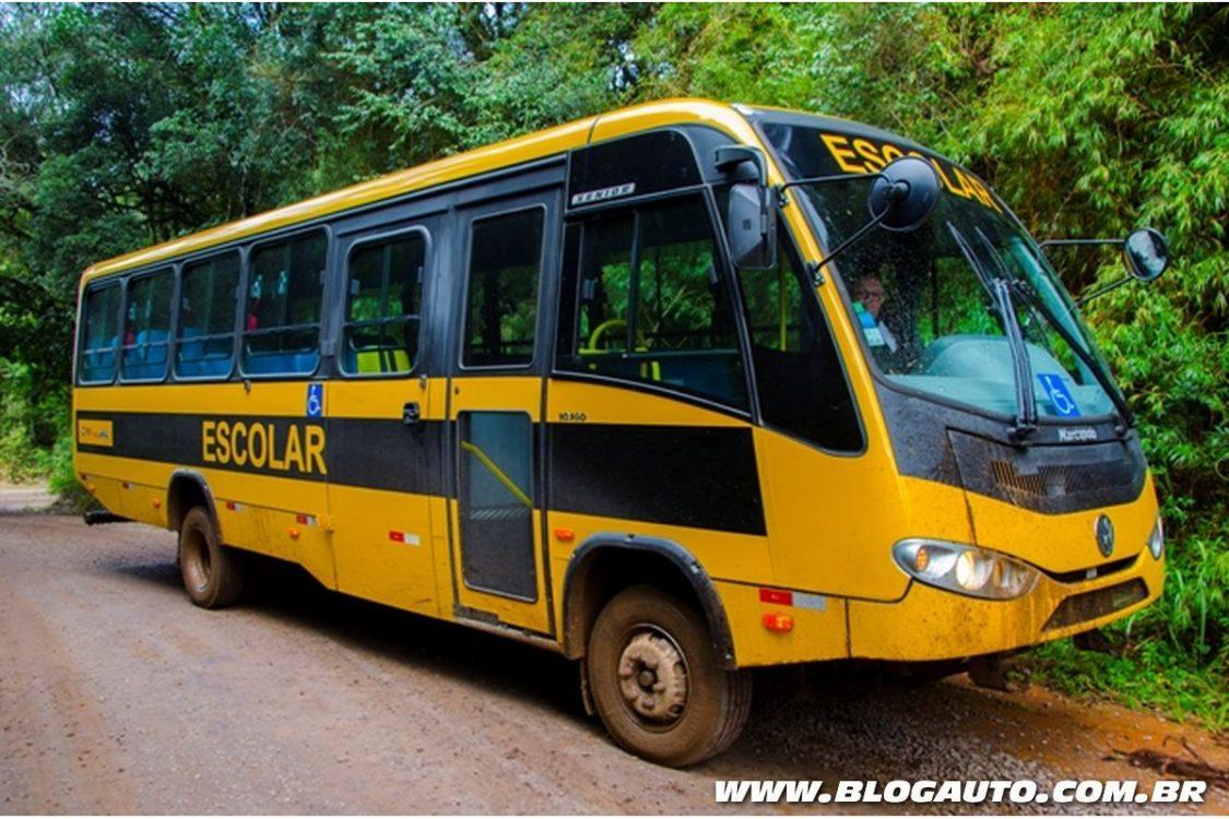 MAN lança novos ônibus para transporte escolar