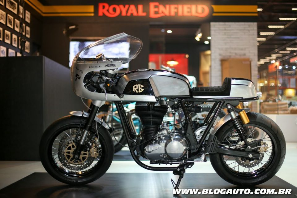Royal Enfield Continental GT trabalhada pela Classic Riders Brasil