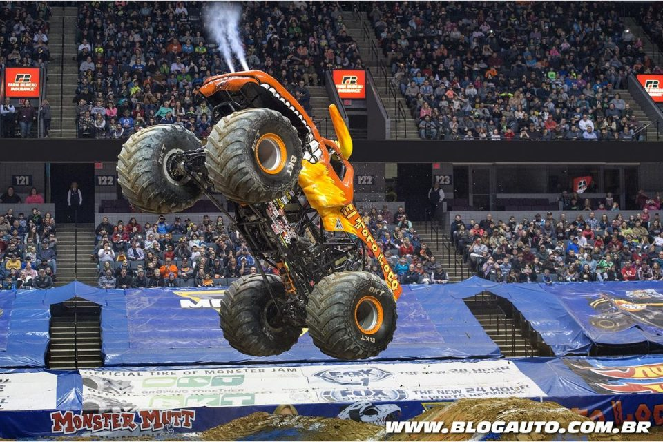El Toro Loco no Monster Jam