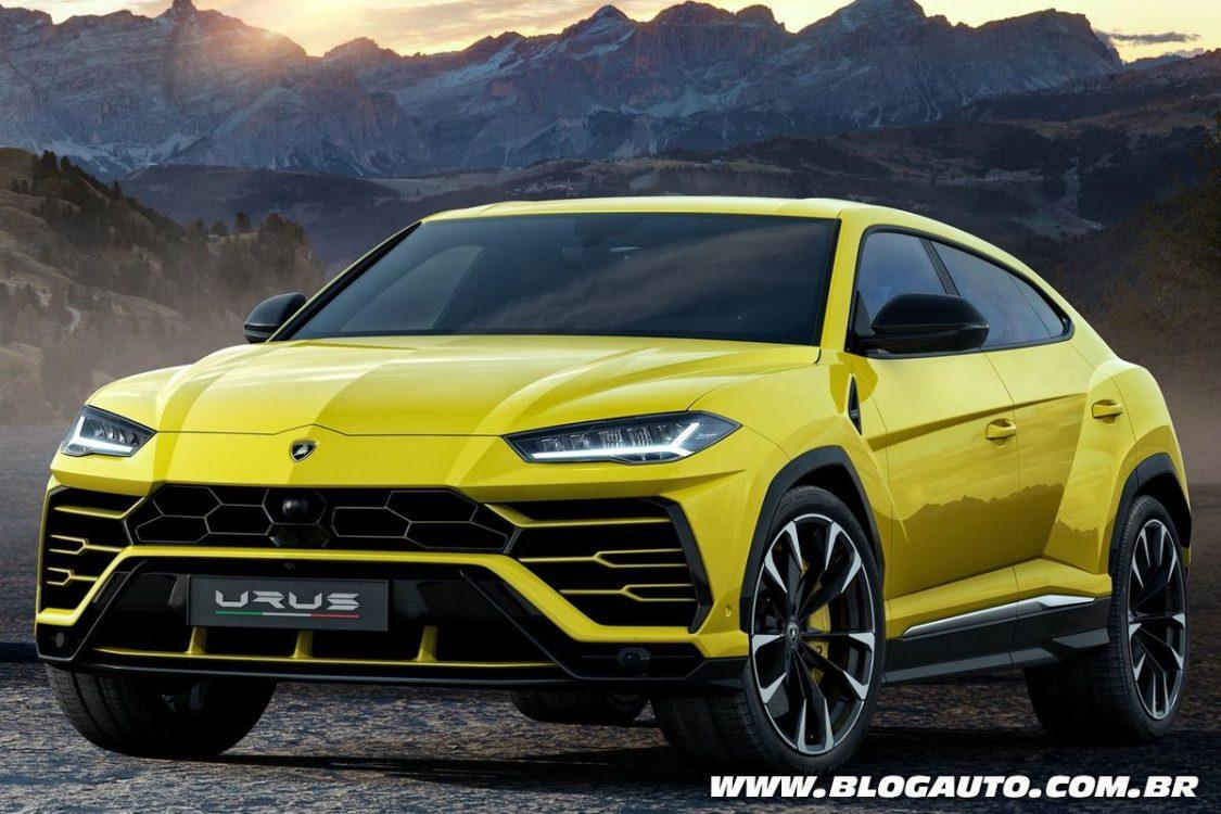 Lamborghini Urus quer ser o SUV mais potente do mundo