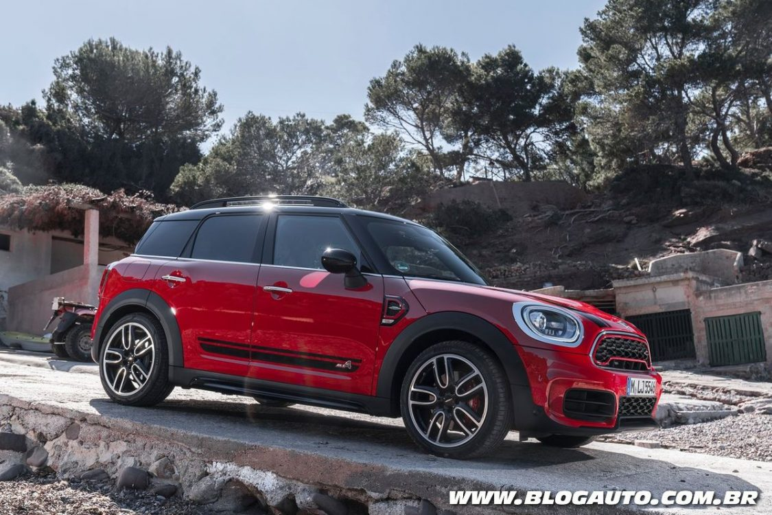 MINI Countryman JCW 2018 parte de R$ 213.950