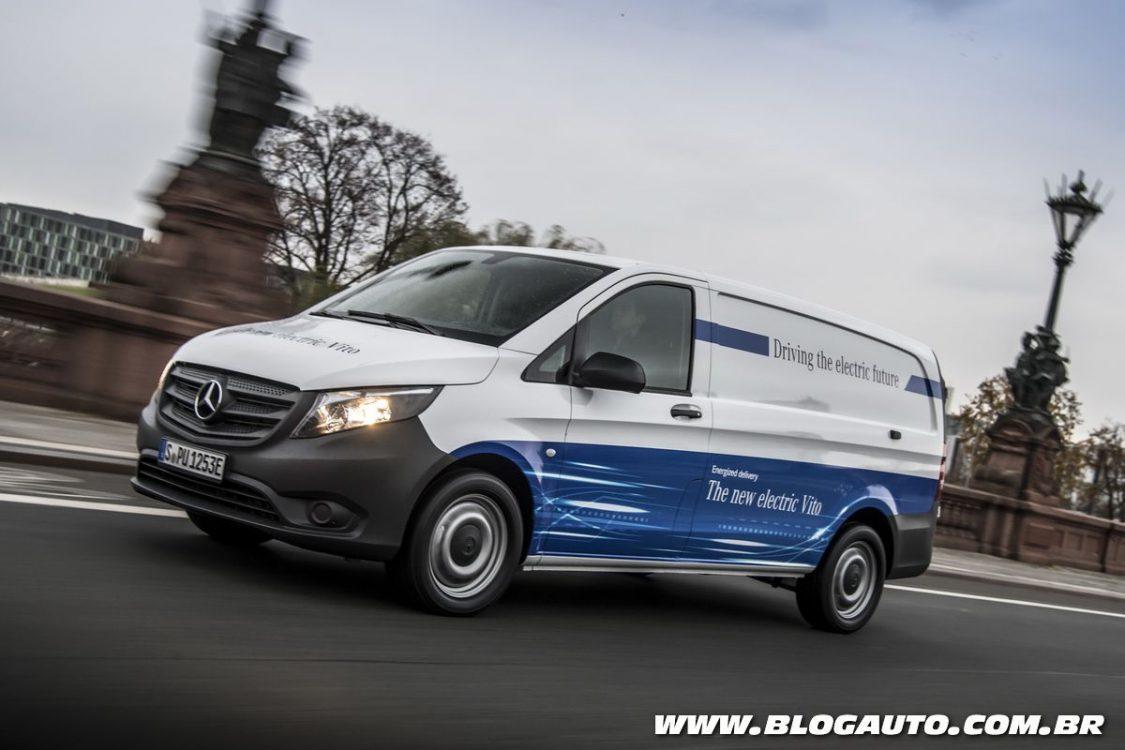 Mercedes-Benz Vito estreia versão elétrica na Europa