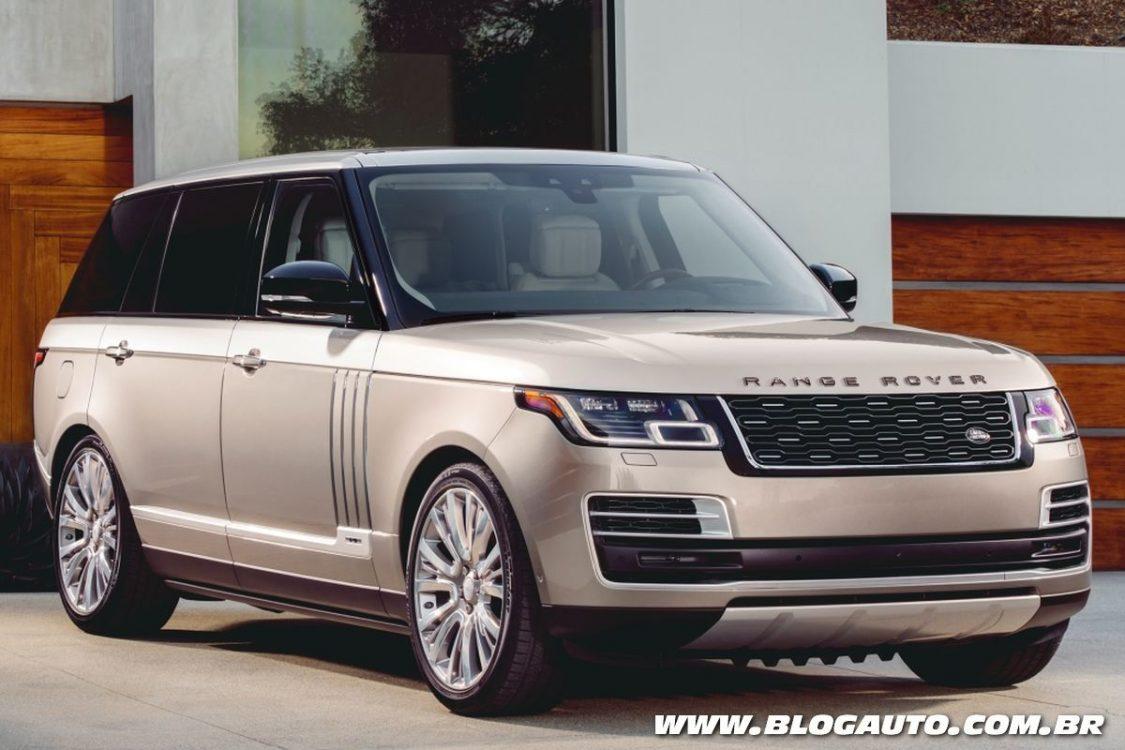 Range Rover SVAutobiography esbanja luxo entre SUVs
