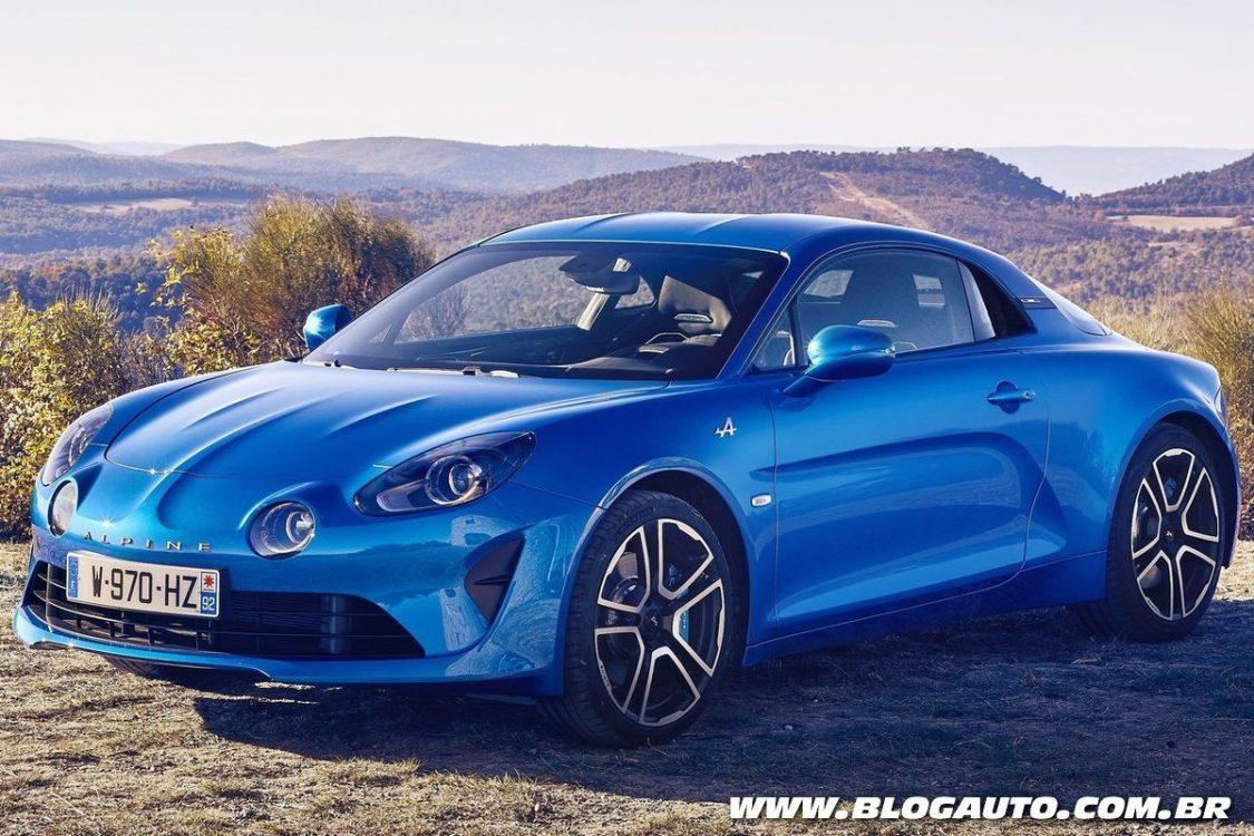 Renault pode lançar novo Alpine A110 no Brasil