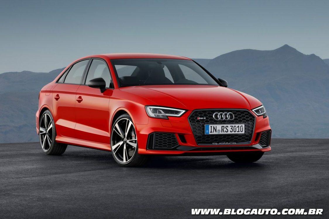 Audi RS3 2018 começa a ser vendido no Brasil