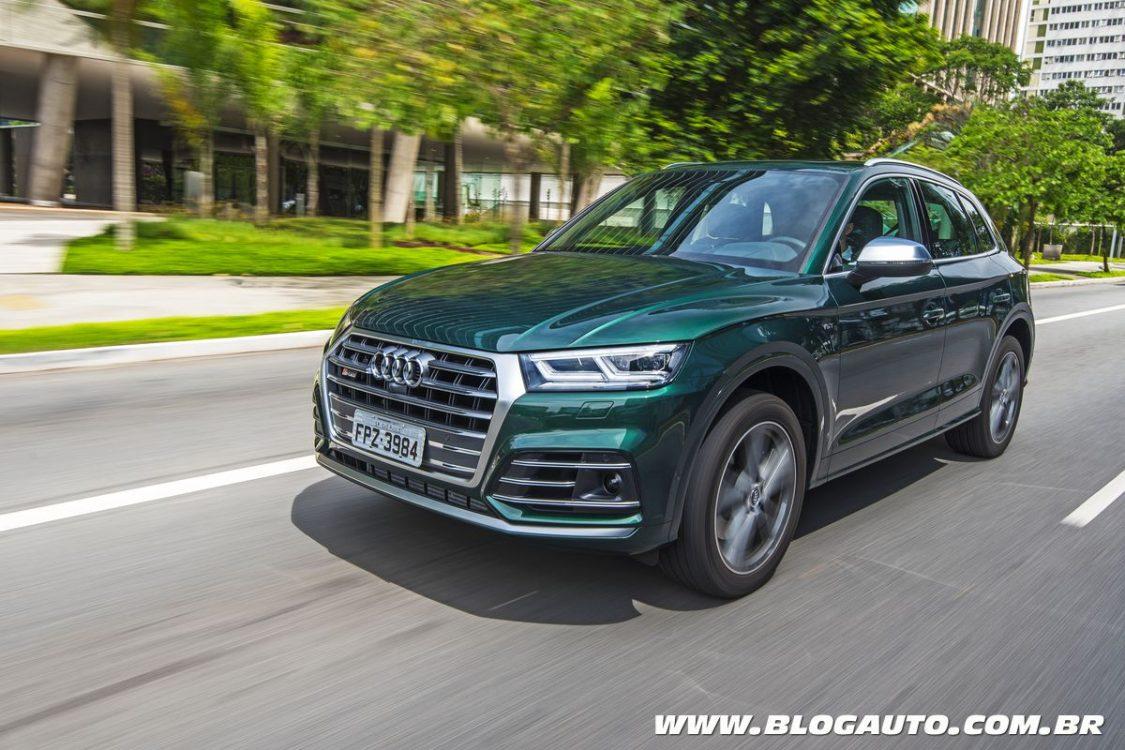 Audi SQ5 2018 começa a ser vendido por R$ 398 mil