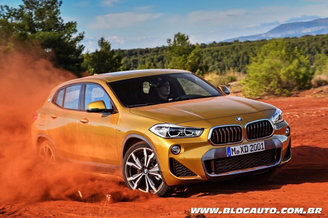 BMW X2 2019 a partir de R$ 211.950 até R$ 246.950